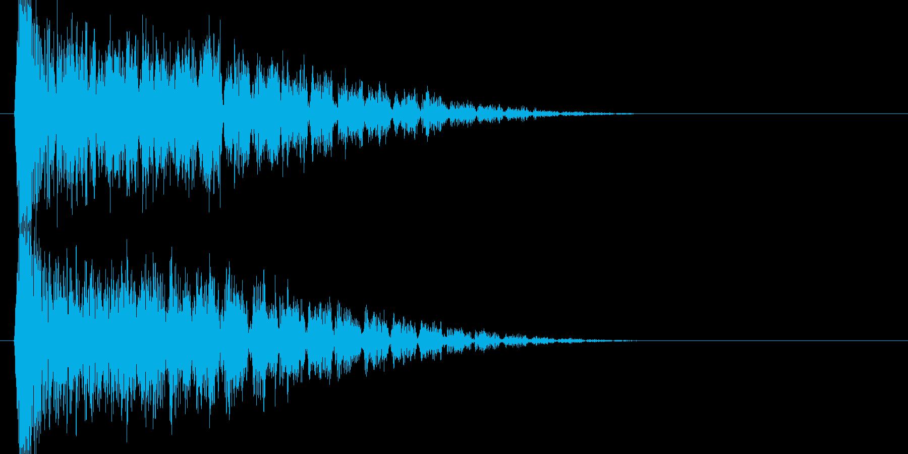 ブゥワブゥワブゥワ(衝撃波)の再生済みの波形