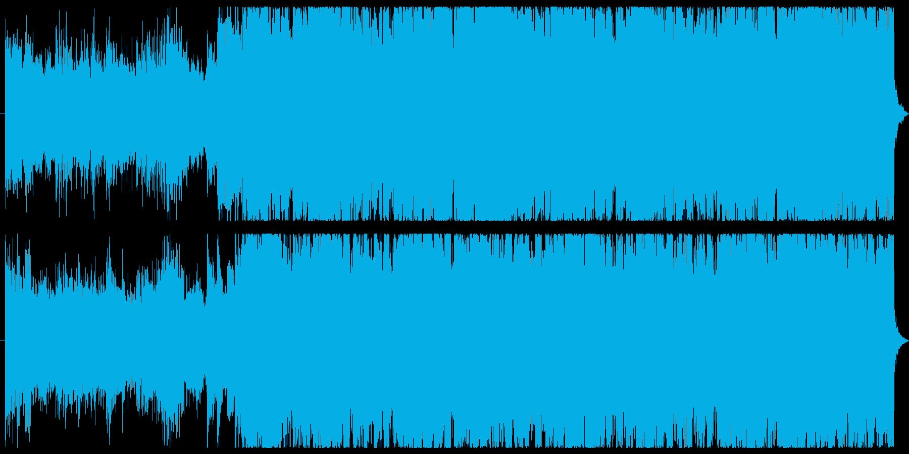メロディアスで疾走感のある戦闘曲30秒の再生済みの波形