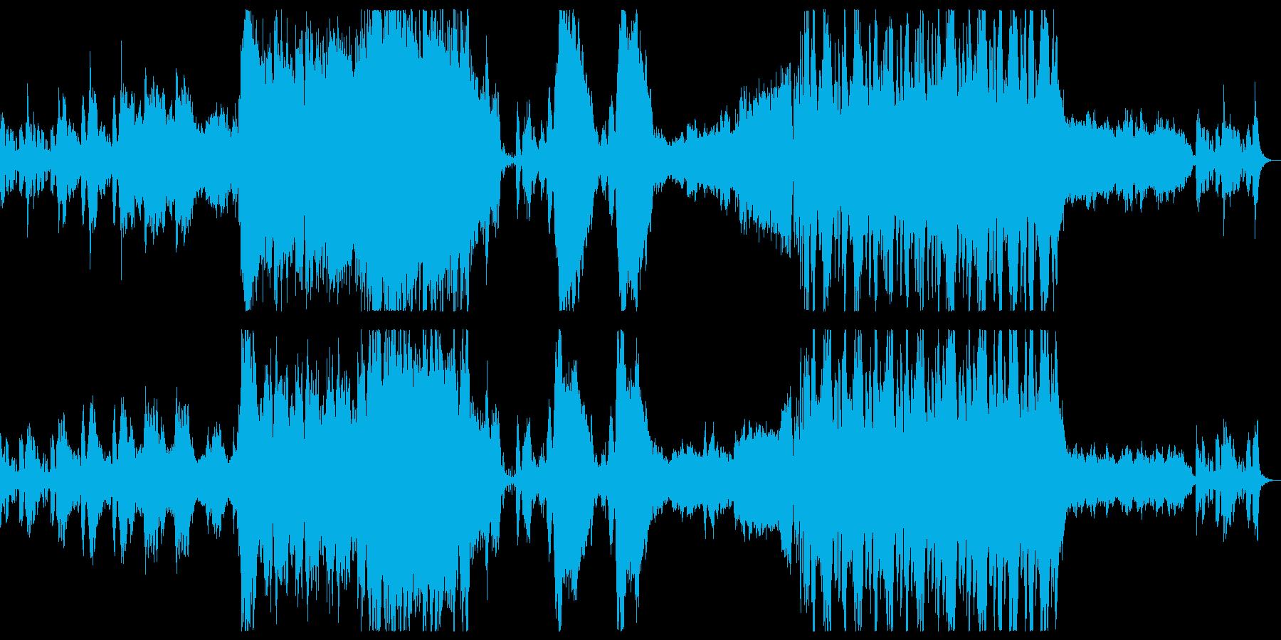 RPGフィールドマップ曲の再生済みの波形