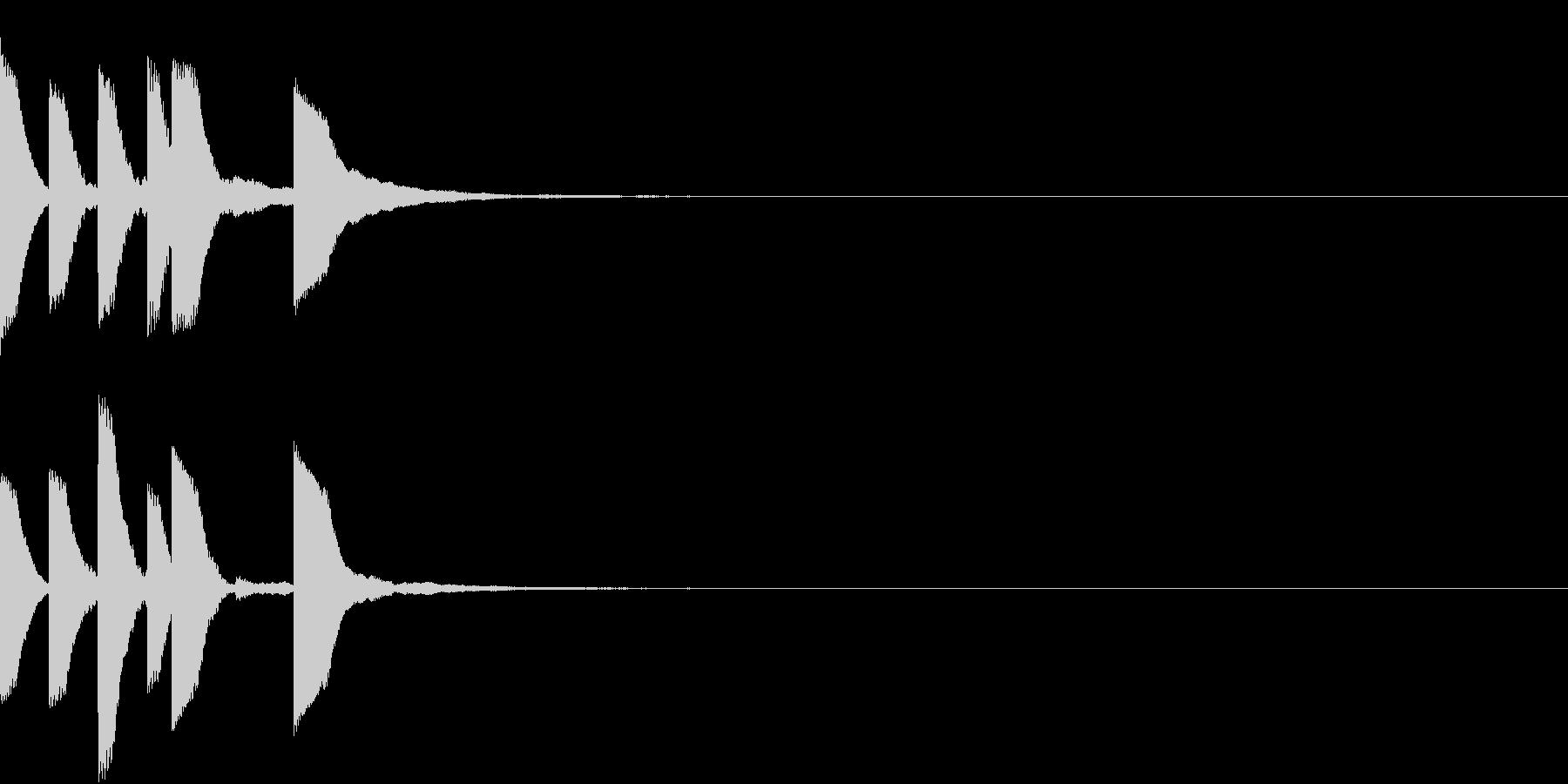Anime ゆるかわアイキャッチ 2の未再生の波形
