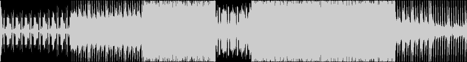 【ループ仕様】シンプルなRPGバトル曲の未再生の波形