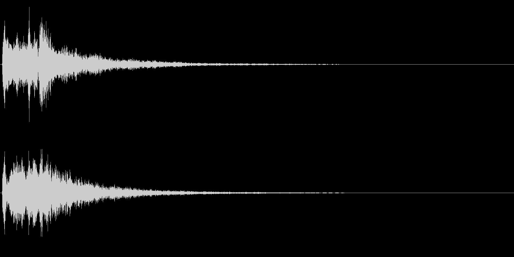 キラリラン(明るい・テロップ・決定音) の未再生の波形