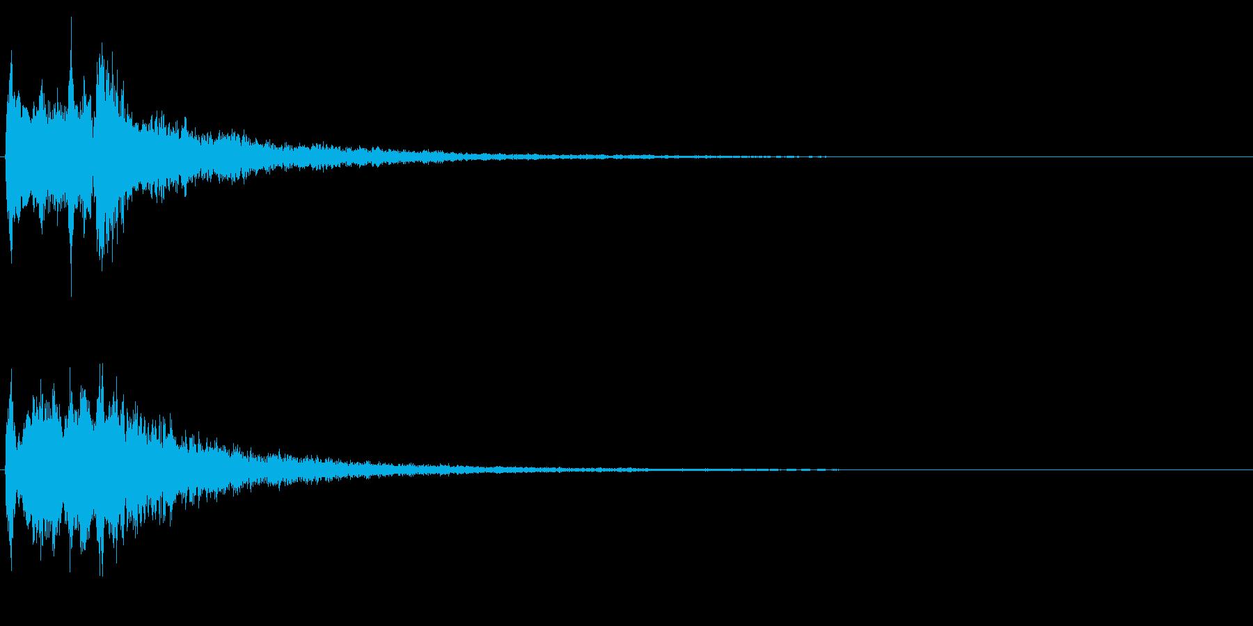 キラリラン(明るい・テロップ・決定音) の再生済みの波形