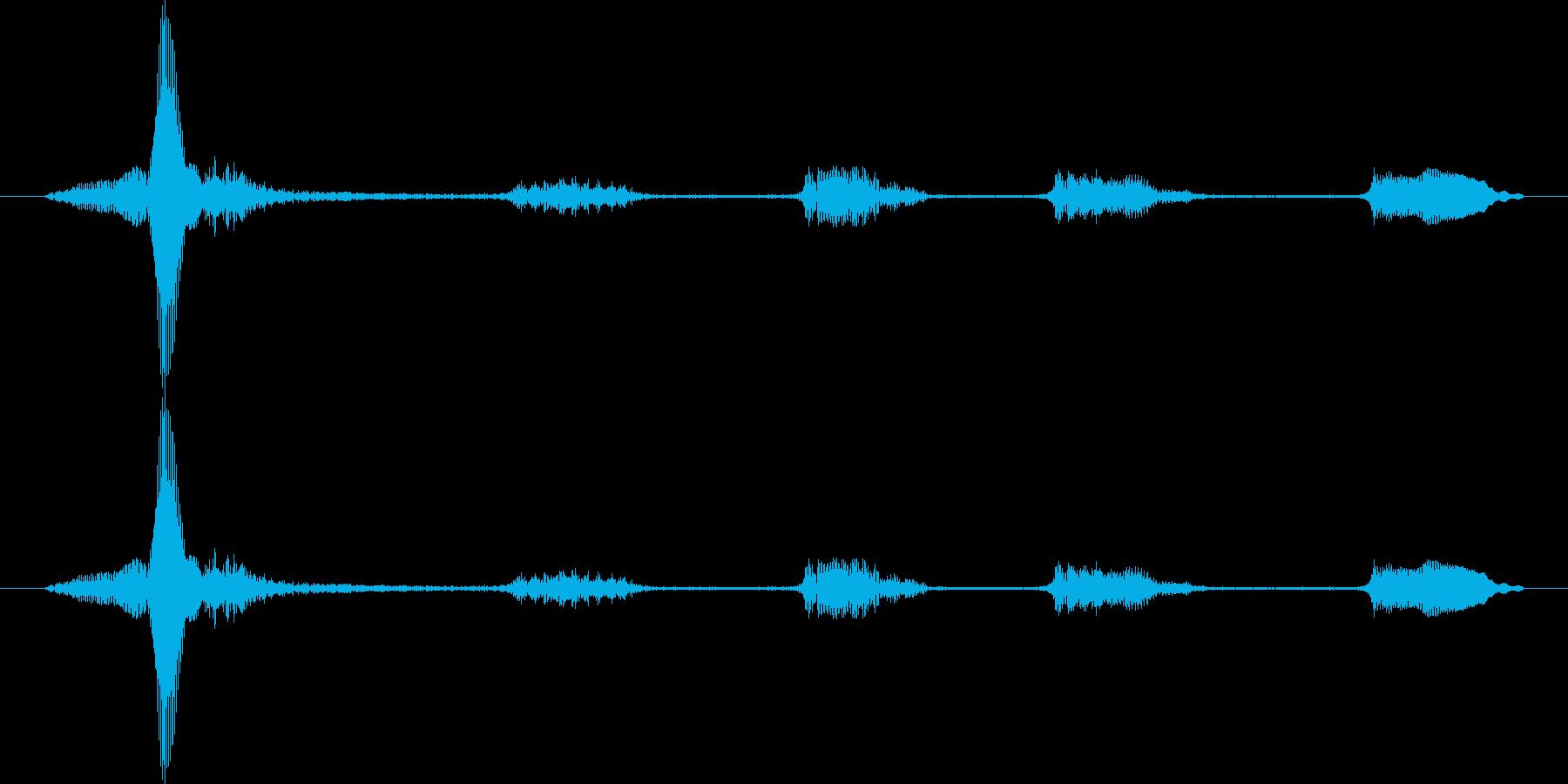 うふふふふの再生済みの波形