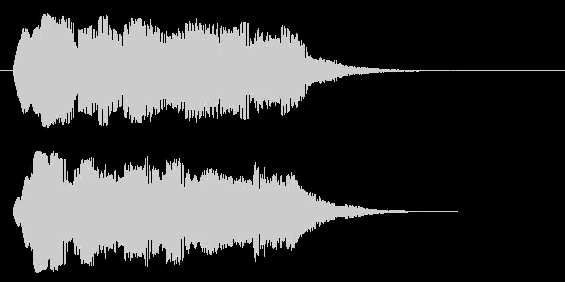 ブォァァーーーーの未再生の波形