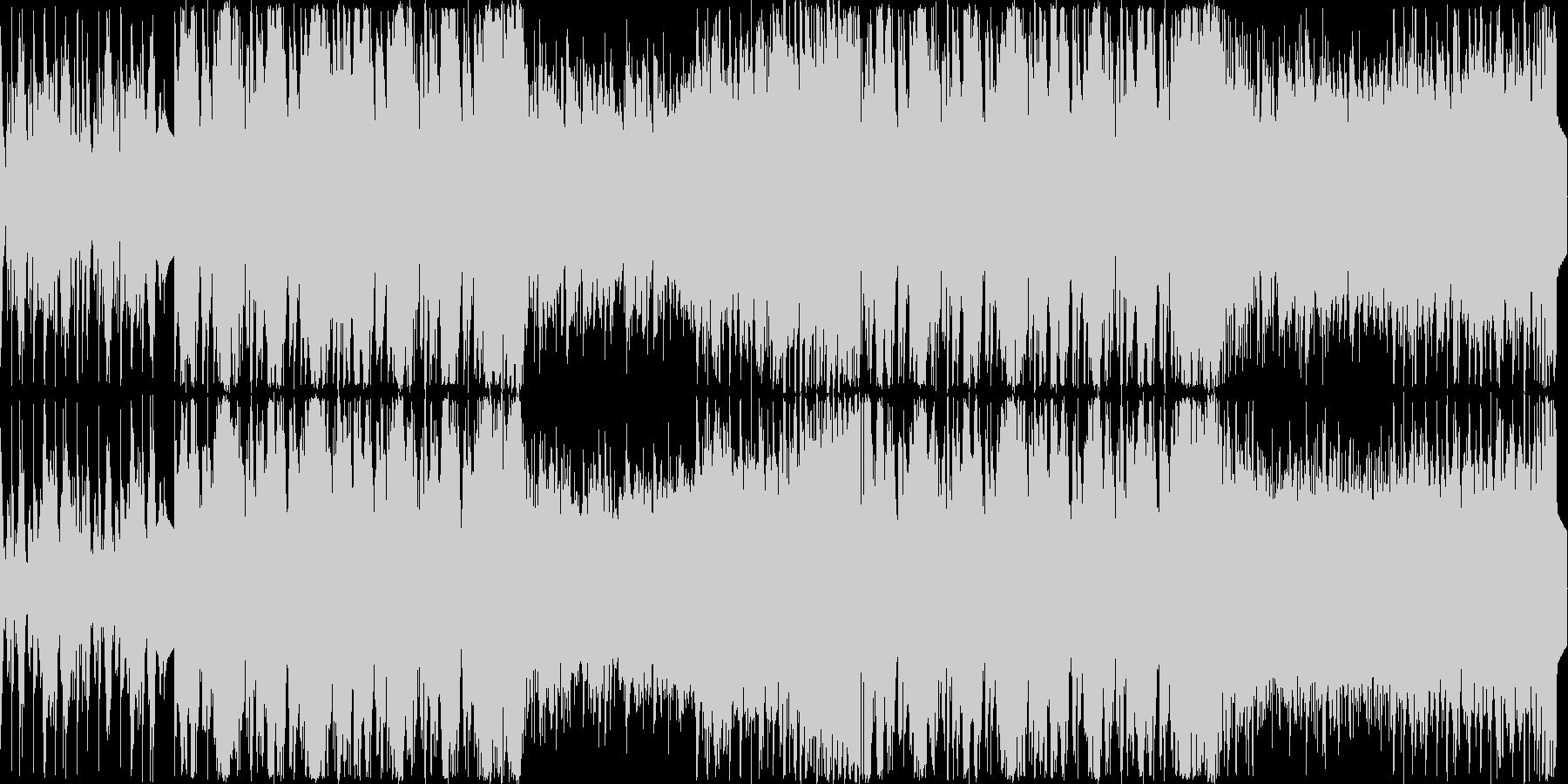 ダークファンタジーのゲーム曲の未再生の波形