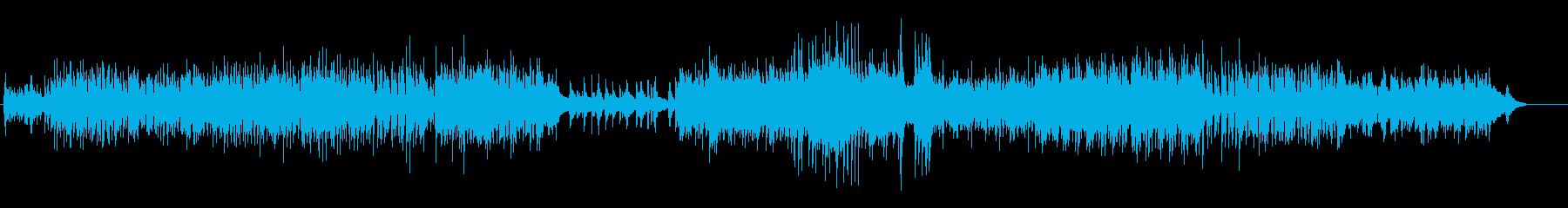 清潔感あふれるアコースティック音楽の再生済みの波形