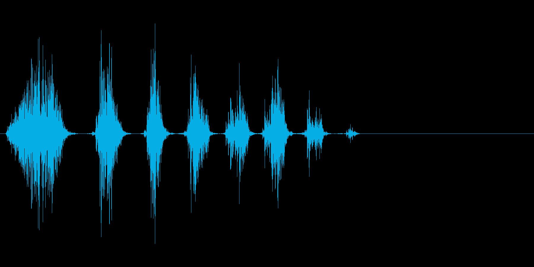 嘲笑うモンスター 2の再生済みの波形