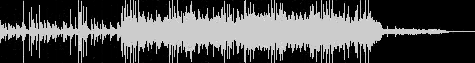 オープニングっぽいさわやかロックインストの未再生の波形