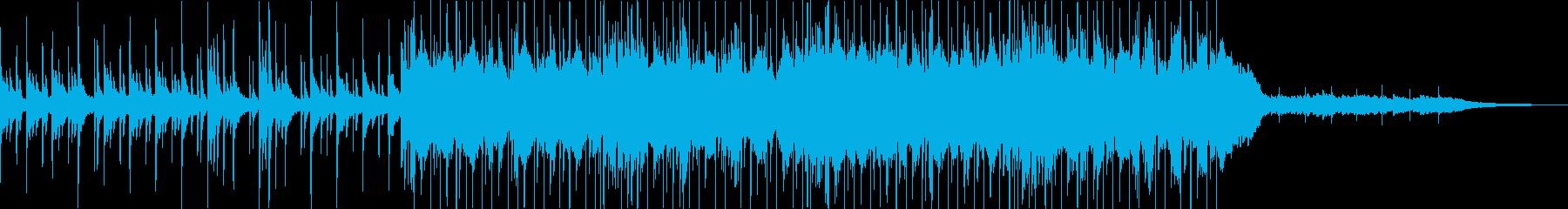 オープニングっぽいさわやかロックインストの再生済みの波形