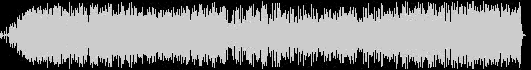 透き通ったボーカルのニューエイジの未再生の波形