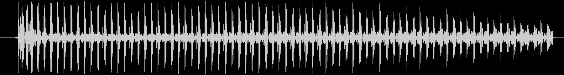 【効果音/電子音/バイーン】の未再生の波形