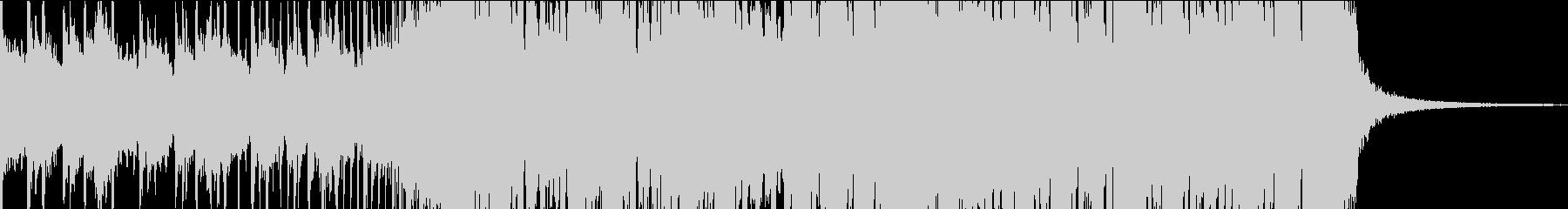 futurebass フューチャーベースの未再生の波形