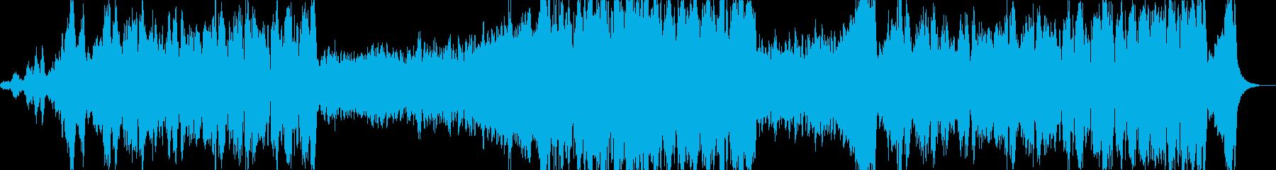 大河ドラマのオープニングっぽい曲です。の再生済みの波形