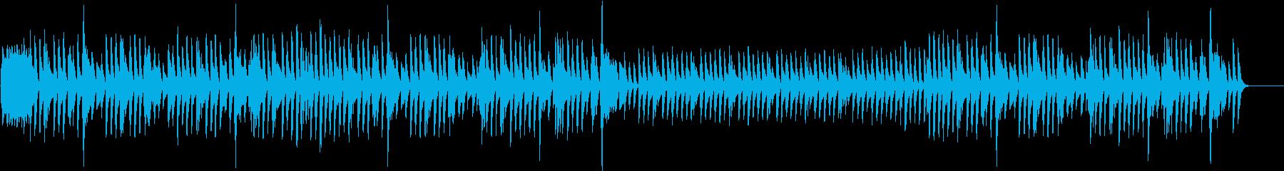 晴れた日の散歩道1(ピアノソロ)の再生済みの波形