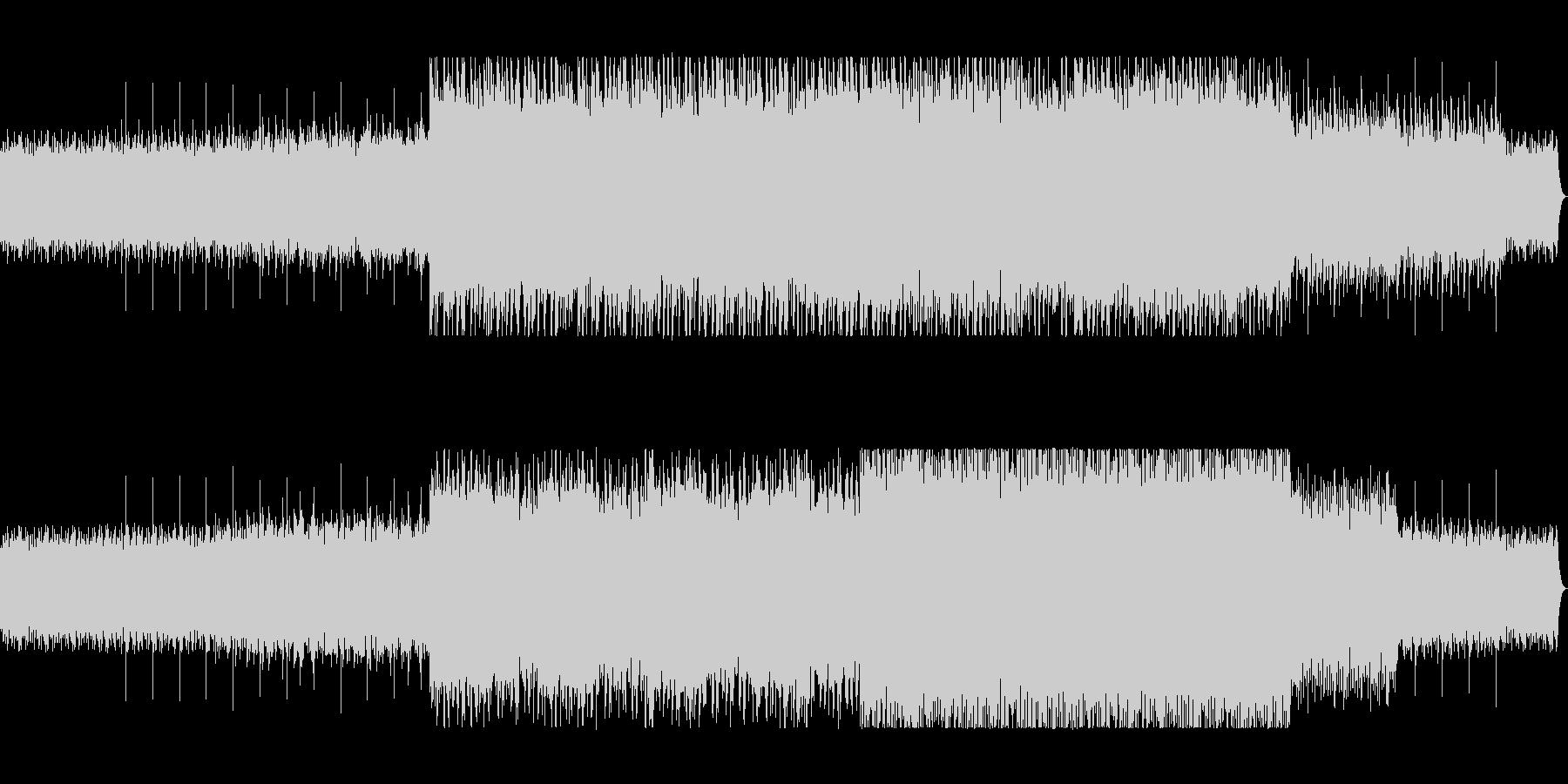 不思議な木琴リフレインミュージックの未再生の波形