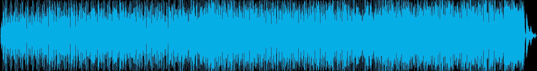 Hip Hop調の都会的なBGMの再生済みの波形