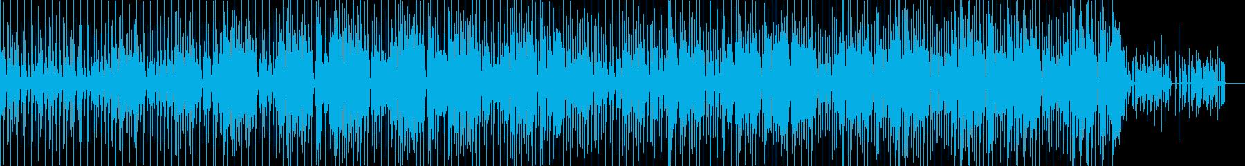 元気の出る、明るいド派手なファンク!の再生済みの波形