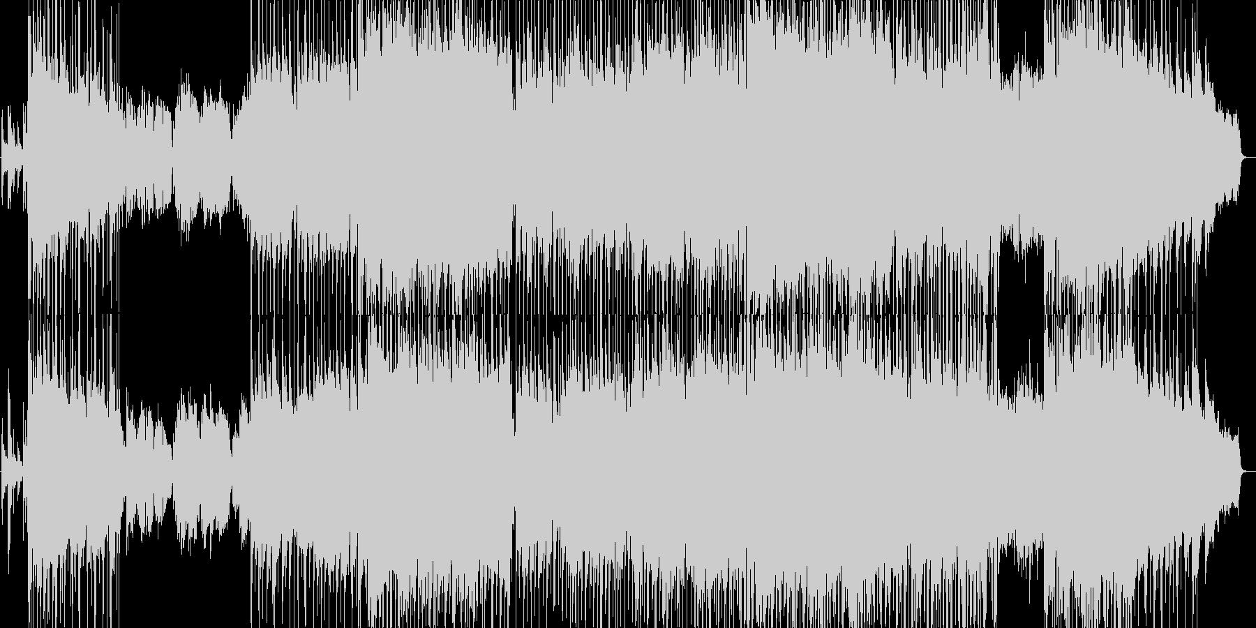 希望的な雰囲気に満ちたバラード2の未再生の波形