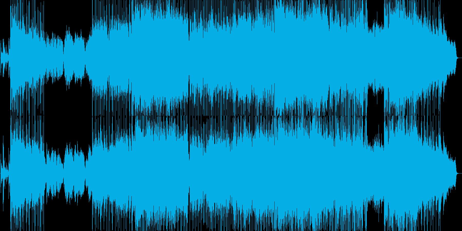 希望的な雰囲気に満ちたバラード2の再生済みの波形