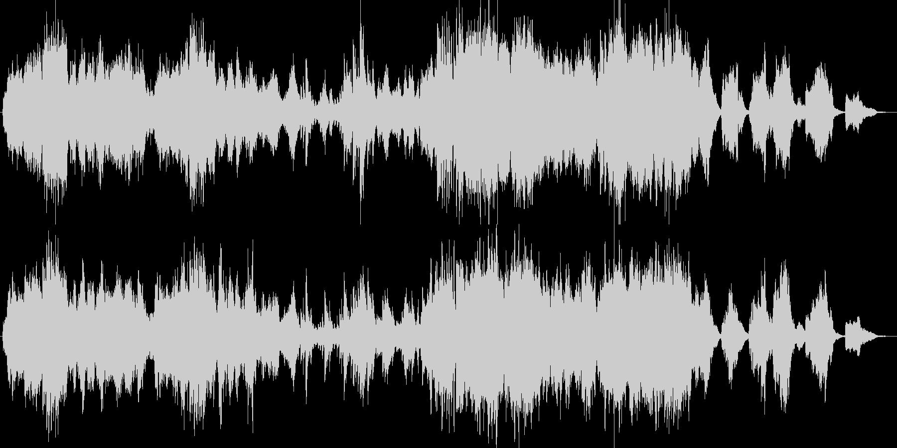 朝ドラ 爽やか クラシカル BGMの未再生の波形