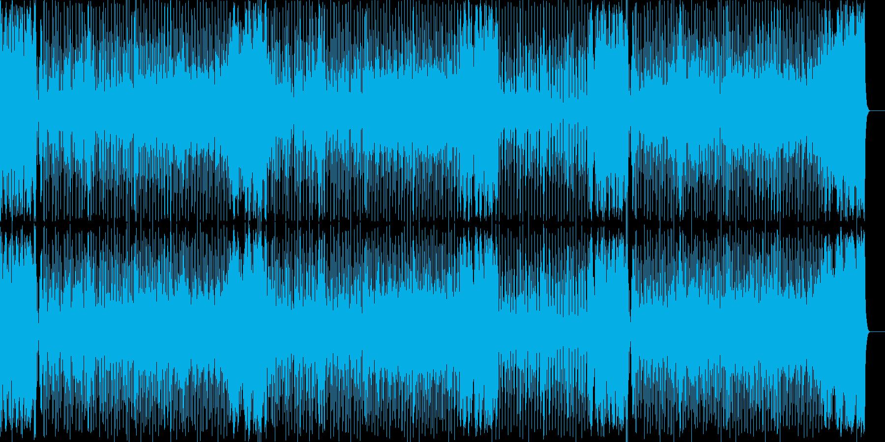 疾走感に溢れたブライトなフュージョンの再生済みの波形
