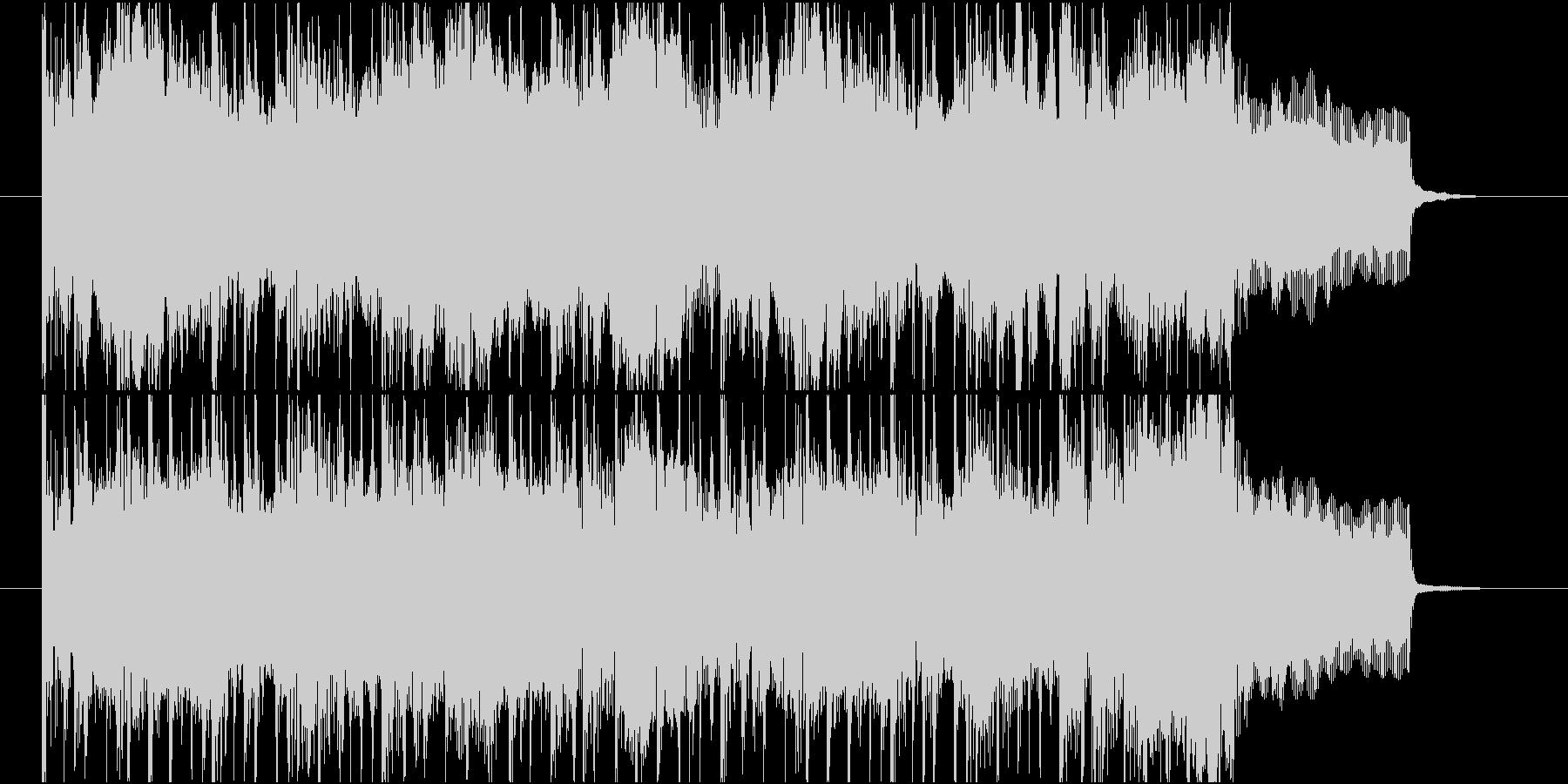 さわやかで都会的なフルートBGMの未再生の波形