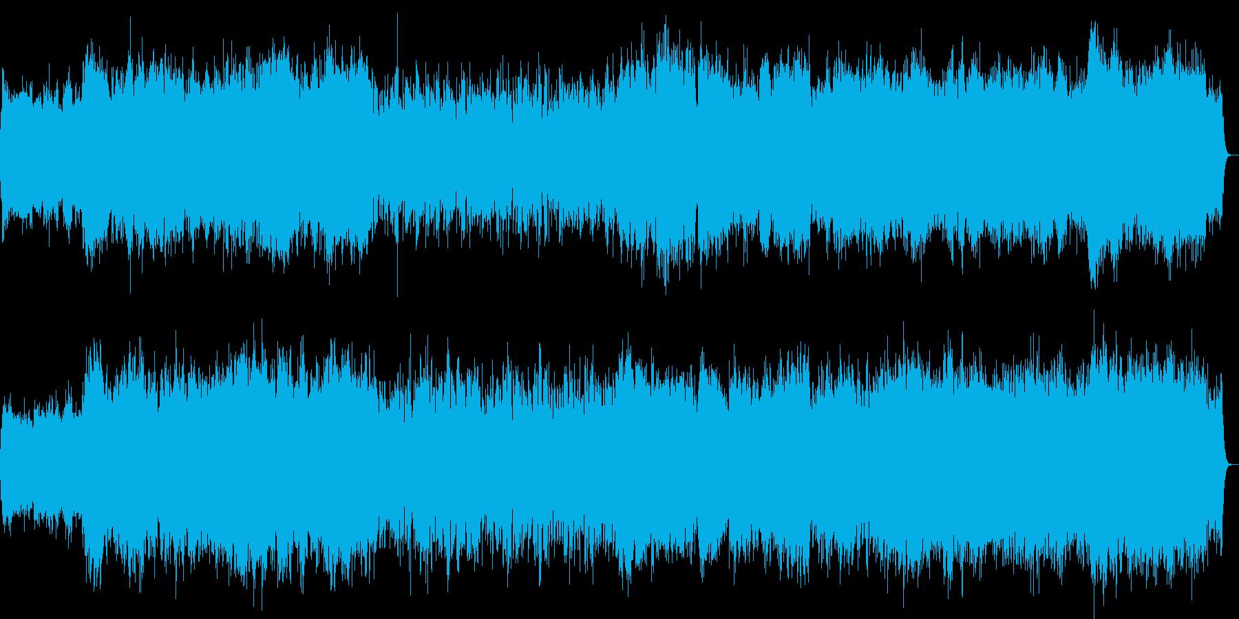 寂しくて悲しいストリングスの曲(小編成)の再生済みの波形