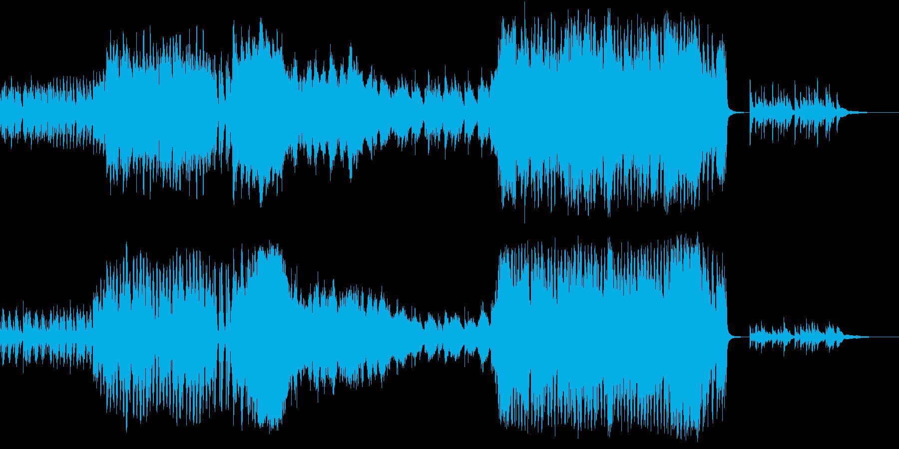 ファンタジックなオーケストラの再生済みの波形