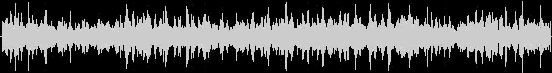 ゲコゲコ(蛙の鳴き声) 音量大の未再生の波形