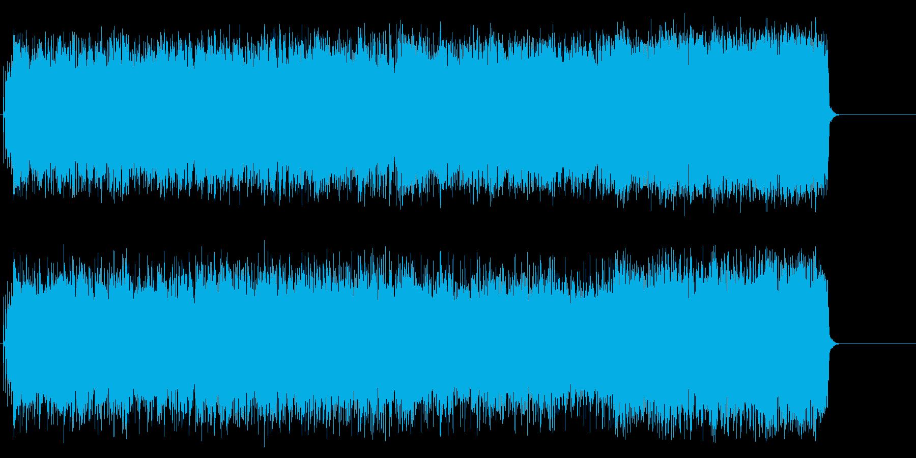 重厚ギターのアメリカンロックハードブギーの再生済みの波形