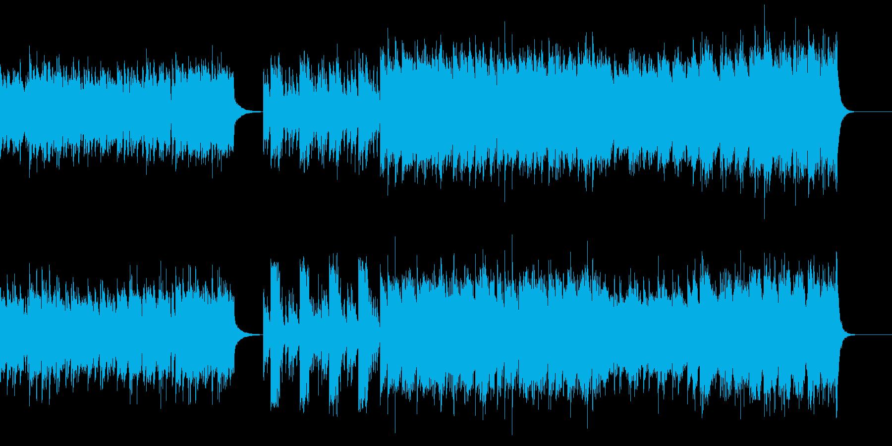 戦闘的なオーケストラの再生済みの波形