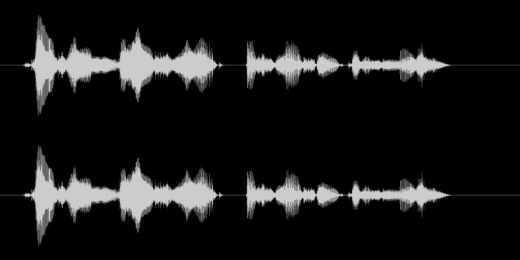【時報・時間】午前0時を、お知らせいた…の未再生の波形
