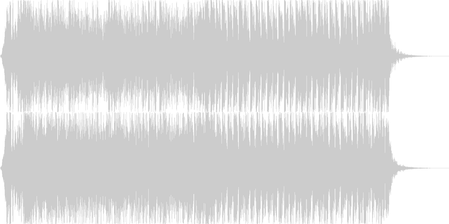 和風、ゲーム煽りBGM、大人用/掛声有りの未再生の波形