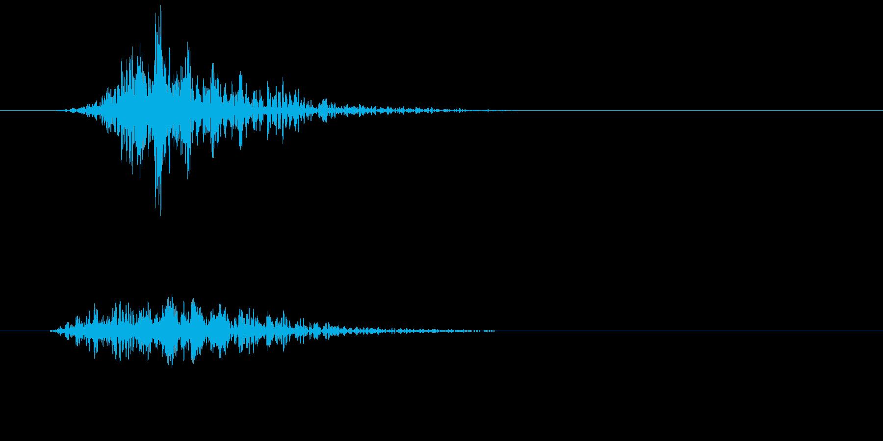 シネマティック 風切り インパクト!11の再生済みの波形