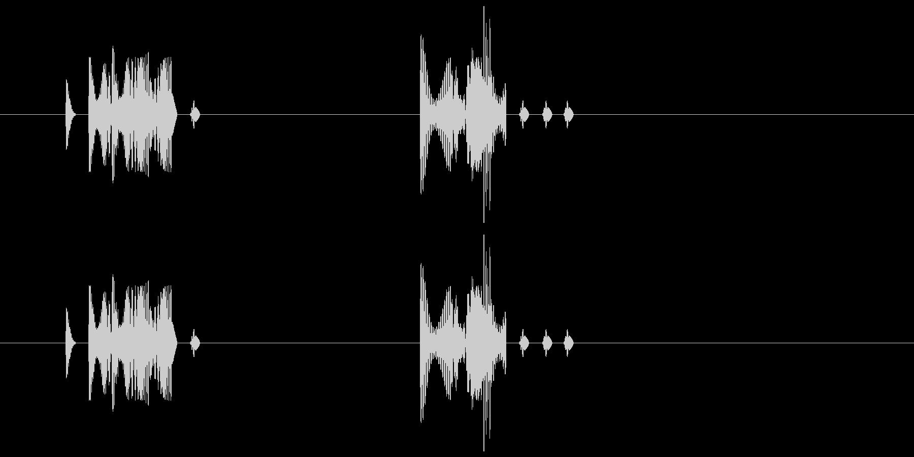 155 水アブク音1の未再生の波形