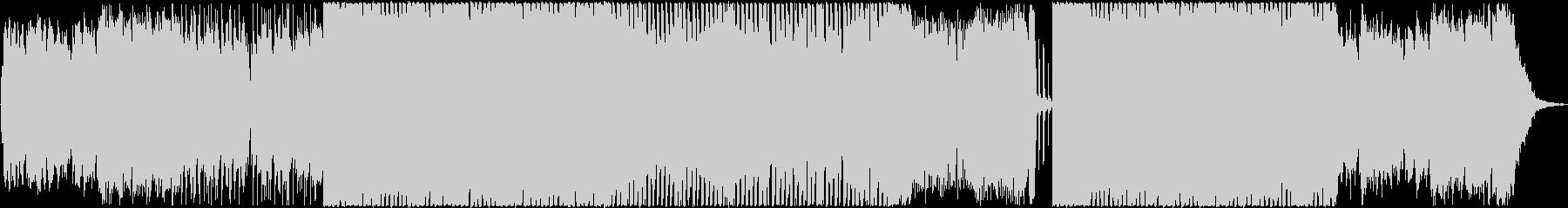 ケルト音楽 民族音楽風の未再生の波形