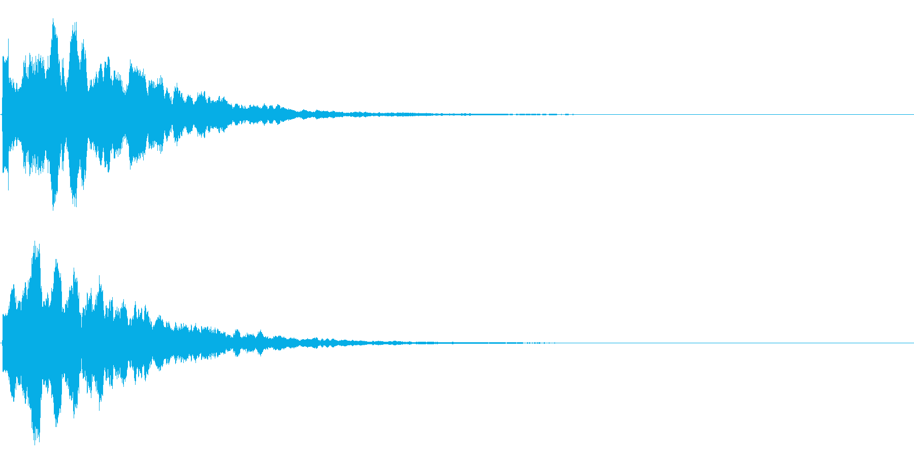 ゲームスタート、決定、ボタン音-054の再生済みの波形
