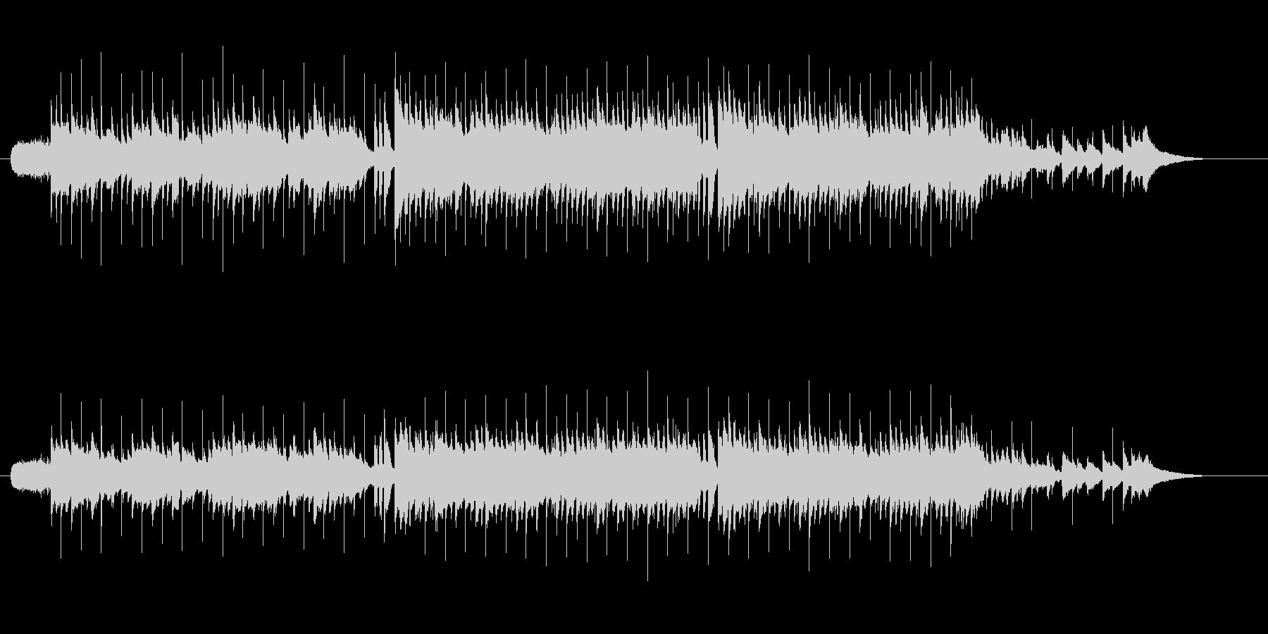 ニューミュージック系ミディアム・バラードの未再生の波形