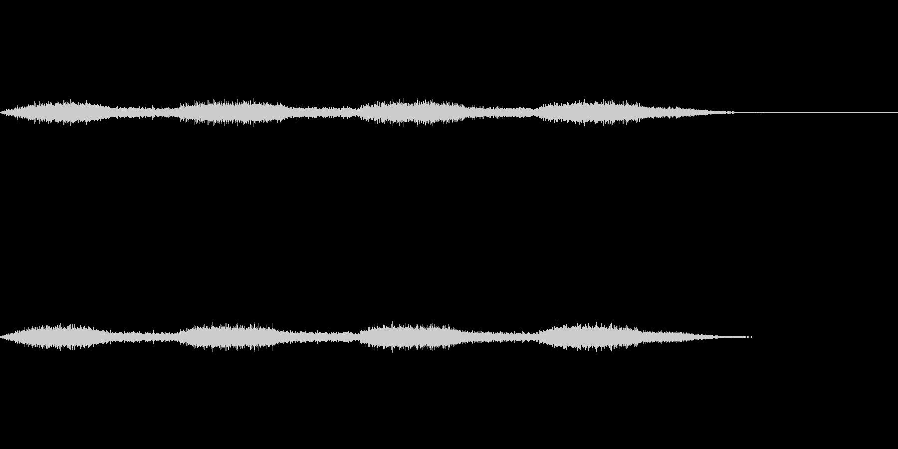 生物的な印象のあるダークサウンドの未再生の波形