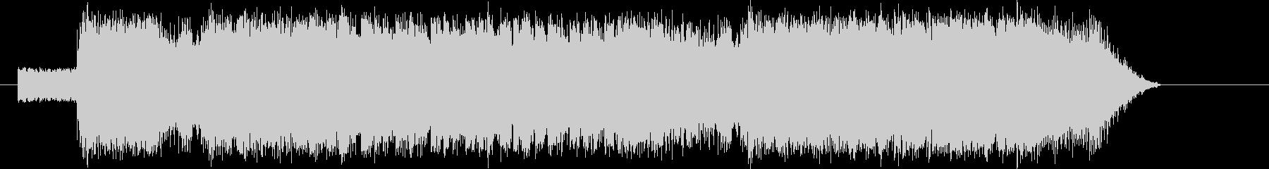 エレキギターがパワフルなバトル系BGMの未再生の波形