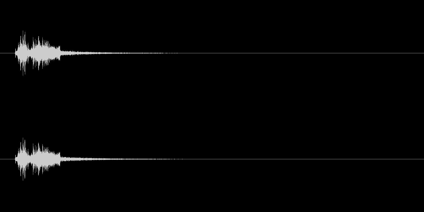 【カメラ シャッター03-3】の未再生の波形