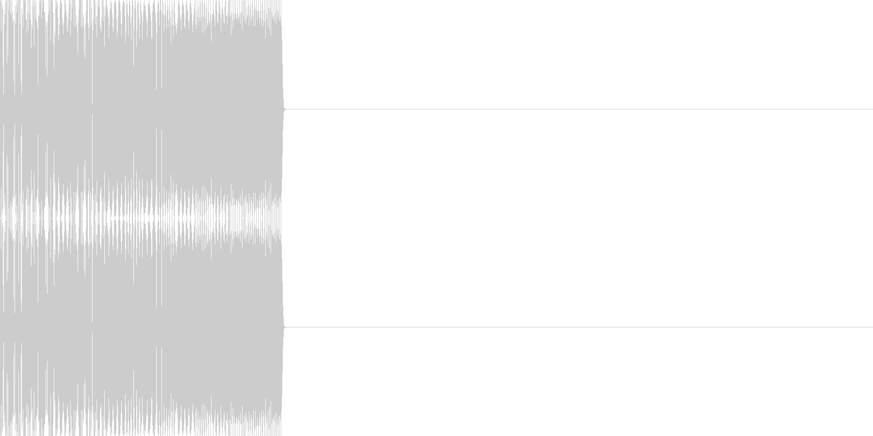 エンカウント04(ファミコン風)の未再生の波形