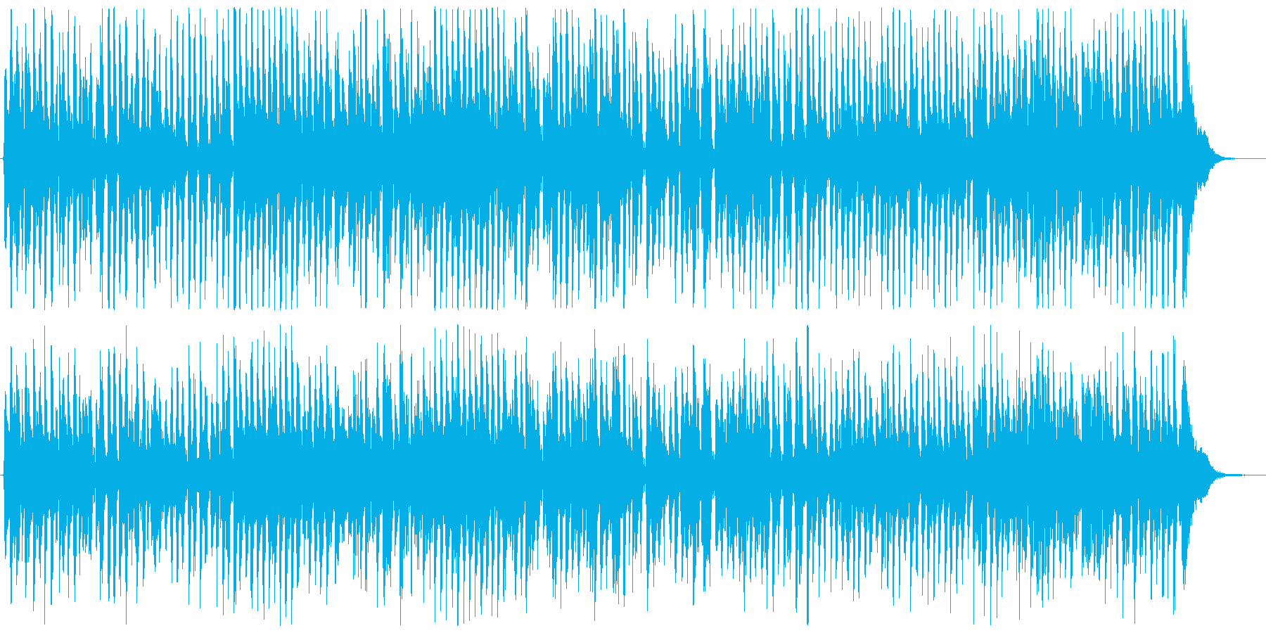 UPテンポのカントリージャズ の再生済みの波形