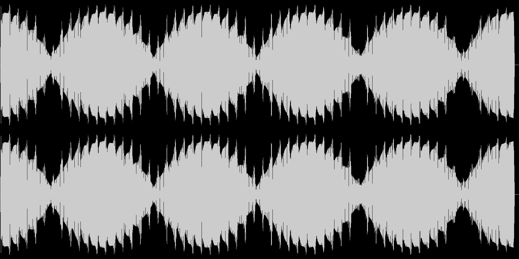 ワープエンジン(出力50%に保たれた音)の未再生の波形