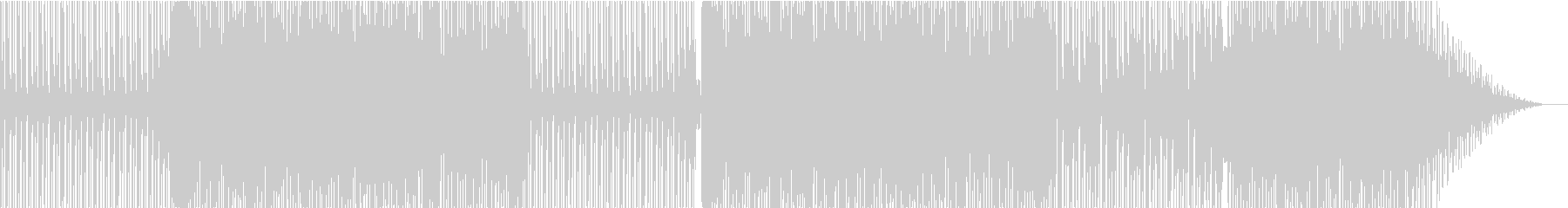 80年代ユーロビート風の未再生の波形