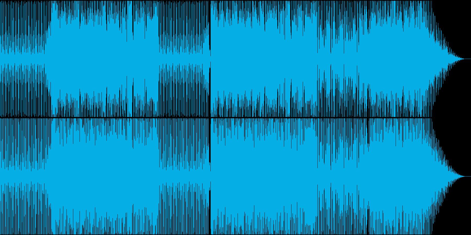80年代ユーロビート風の再生済みの波形