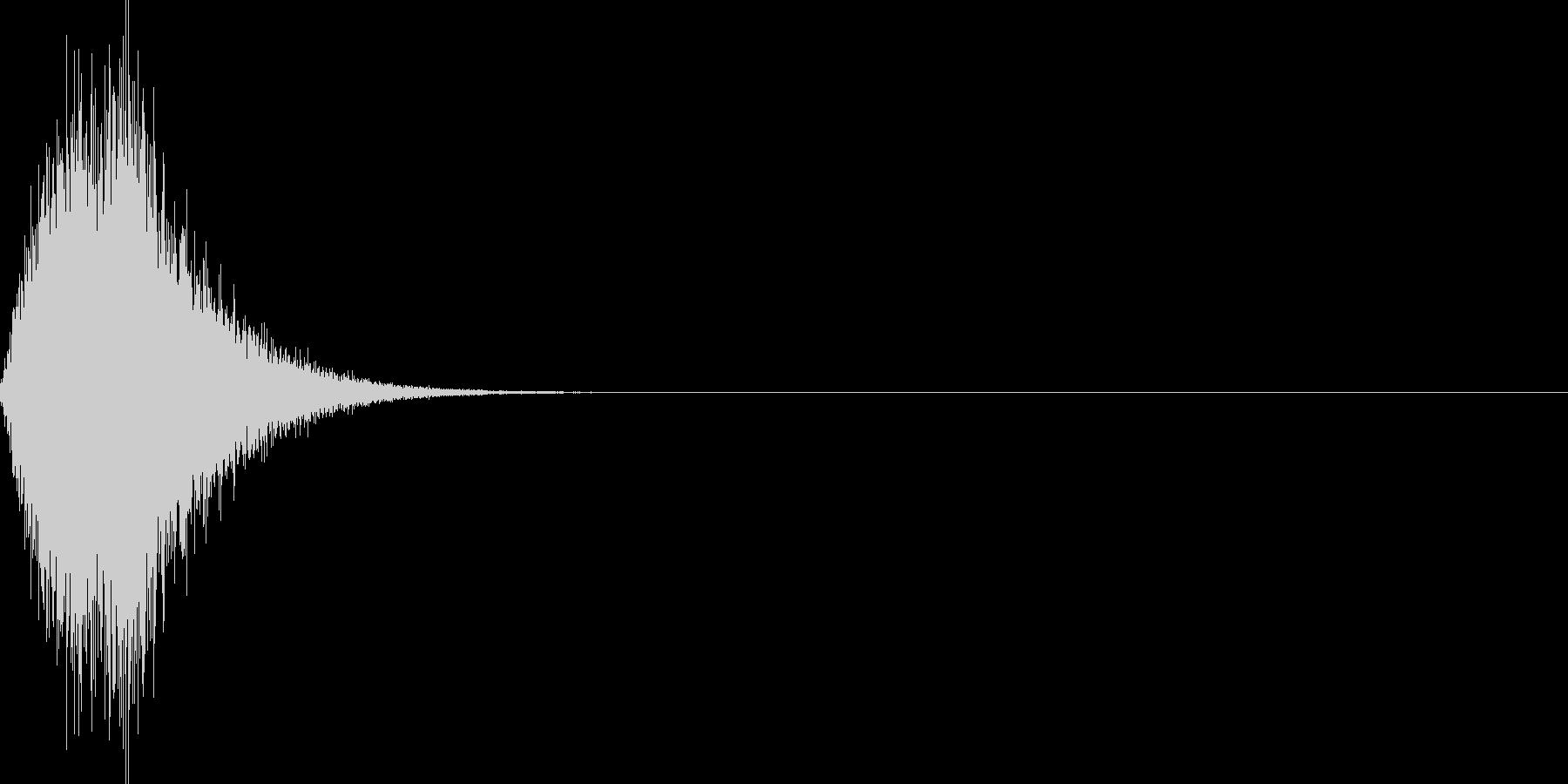 ゲームウィンドウを開くの未再生の波形