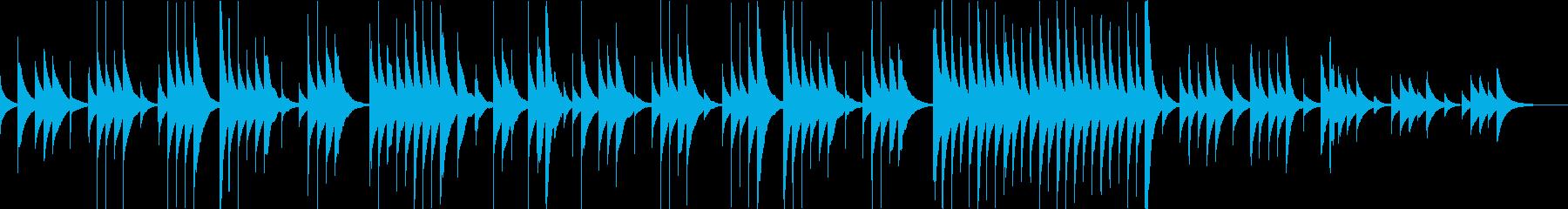 別れの曲のオルゴールアレンジ/ループokの再生済みの波形