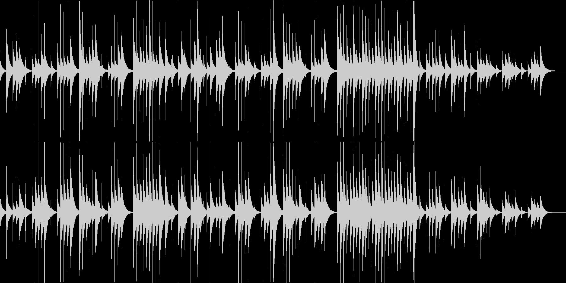 別れの曲のオルゴールアレンジ/ループokの未再生の波形